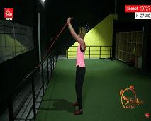 تمارين رياضية بالحبل المطاطي للذين يعانون آلام الظهر
