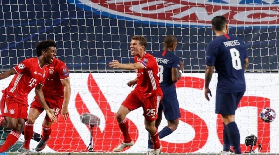 بايرن ميونخ يتفوق على باريس سان جيرمان ويتوج بطلا لدوري أبطال أوروبا