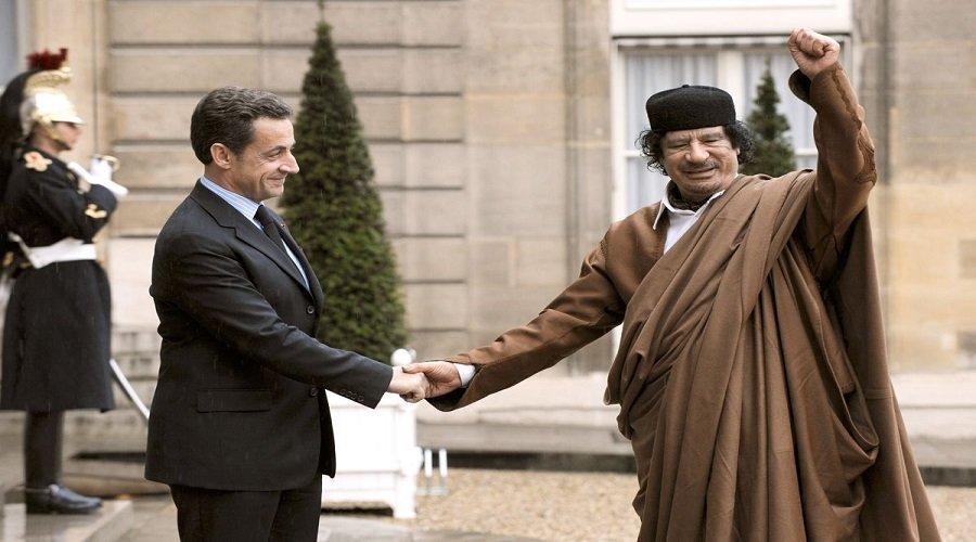 لعنة القذافي تصيب ساركوزي...القضاء الفرنسي يوجه له تهمة تشكيل عصابة إجرامية بسبب ليبيا