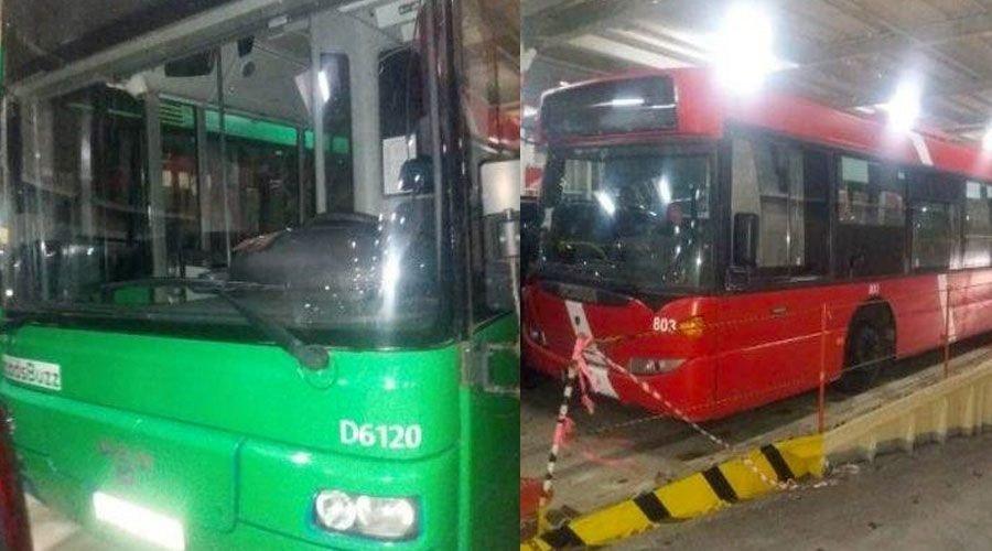هل اقتنى مجلس البيضاء حافلات إسرائيلية مستعملة ؟