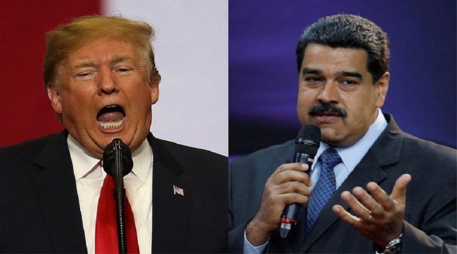 """نائب ترامب يؤكد أن """"جميع الخيارات"""" مطروحة للتحرك عسكريا ضد مادورو"""