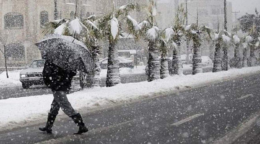 تساقطات ثلجية وطقس بارد ورياح قوية بهذه المناطق من المملكة