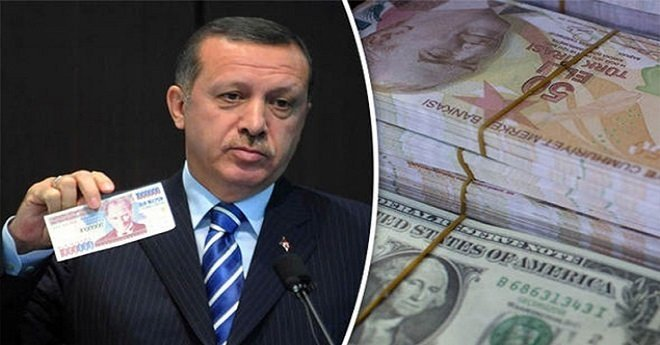 الليرة التركية تسقط من جديد بعد صحوة قصيرة