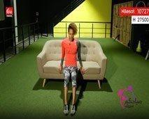 رياضة اليوم : حركات بسيطة لتقوية عضلات الفخذين