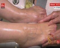 تعرفوا على كيفية تدليك القدمين لإزالة التعب