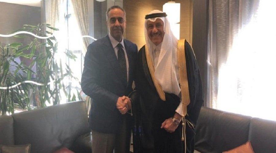 الحموشي يلتقي السفير الجديد للسعودية