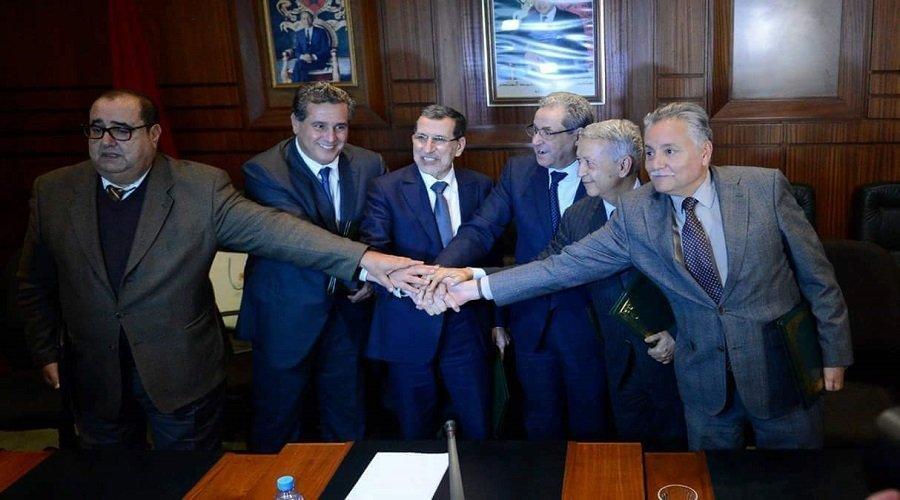 """التعديل يجمع لشكر بـ""""حكماء"""" الاتحاد والعثماني يرمى كرة المقترحات لزعماء الأغلبية"""