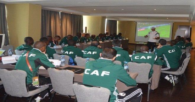 """قبل """"الشان"""".. الحكام الأفارقة يتدربون على تقنية """"خط المرمى"""" لأول مرة بالمغرب"""