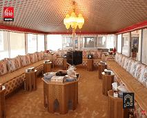 أماكن يزور خيمة الشيخ حمد بن أحمد آل نهيان التي تجمع بين الموروث الإماراتي و المغربي