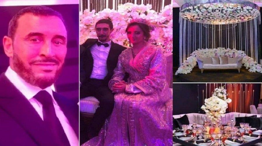 بالفيديو.. كاظم الساهر يغني في زفاف ابنه وعروسه المغربية