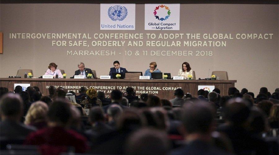 المصادقة رسميا على ميثاق الأمم المتحدة حول الهجرة بمراكش