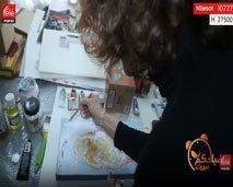 أمينة بن بوشتى : ماكاين حتى زنقة بإسم إمرأة..تاندير الفن التشكيلي باش نغيروا وضعية النساء