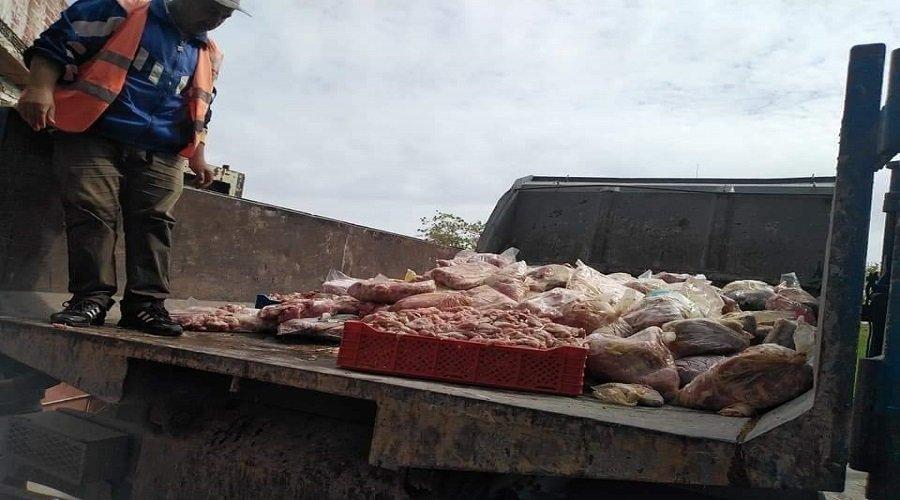 ضبط طن من اللحوم الفاسدة كانت في طريقها لموائد الطنجاويين