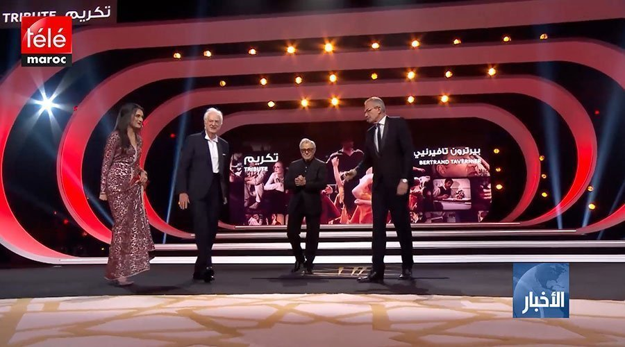 المهرجان الدولي للفيلم بمراكش يكرم المخرج العالمي بيرتراند تافيرنيي