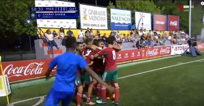 فيديو .. المنتخب الوطني المغربي لأقل من 20 عاماً يحقق الفوز على منتخب قطر