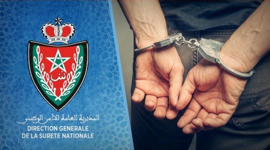 عناصر المصلحة الولائية للشرطة القضائية بطنجة توقف ثلاثة مهربين دوليين للمخدرات والمؤثرات العقلية