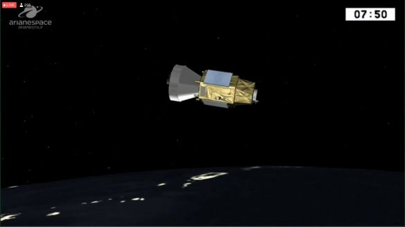 """القمر الصناعي """"محمد السادس – ب"""" يصل الفضاء بنجاح"""