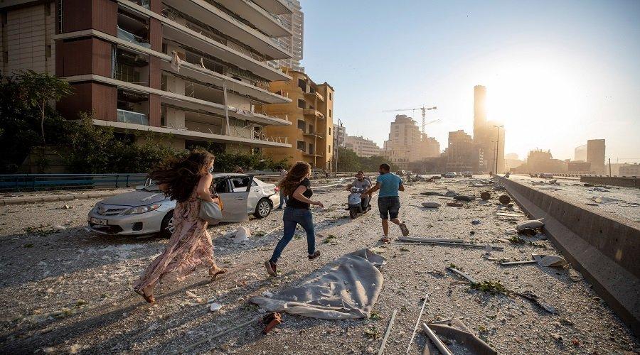 إصابة مواطنة مغربية في انفجار بيروت والسفارة تكشف حالتها