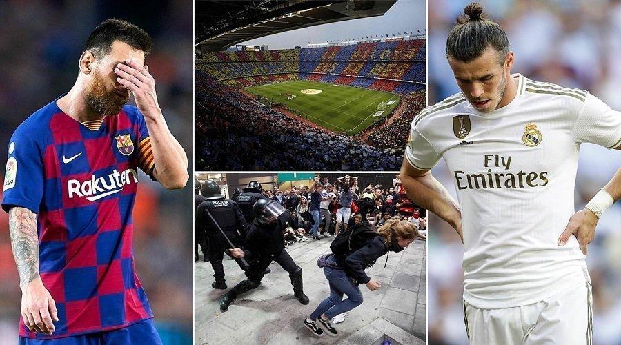 أحداث كتالونيا تؤجل مباراة الكلاسيكو الإسباني