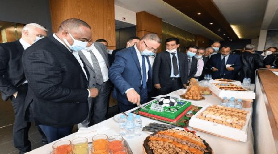تفاصيل احتفال المكتب المديري للجامعة بعضوية لقجع في «الفيفا»