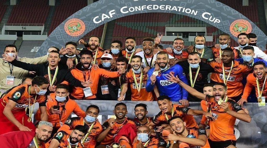 نهضة بركان يطيح ببيراميدز المصري ويتوج بطلا لكأس الكونفدرالية الإفريقية