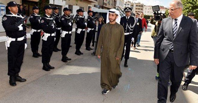ولاية أمن الرباط تتسلم معدات أمنية متطورة من الإمارات (صور)