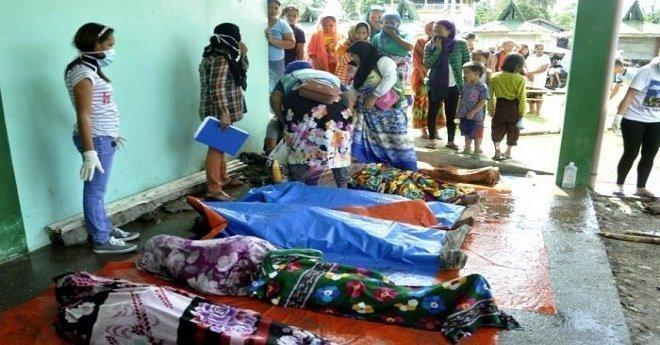 """الفلبين: أكثر من 200 قتيل و70 ألف نازح جراء العاصفة الاستوائية """"تمبين"""""""