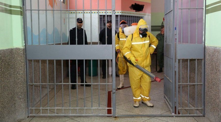 عدم تسجيل أية إصابة جديدة بكورونا في 75 مؤسسة سجنية من أصل 76