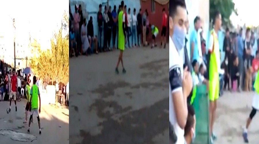 مباريات الكرة بالأحياء الشعبية والبوادي تستنفر السلطات
