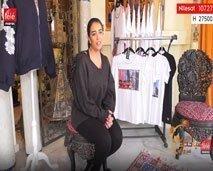 نارمين البوهلالي.. مصممة ألبسة جاهزة عصرية بلمسة مغربية تقليدية