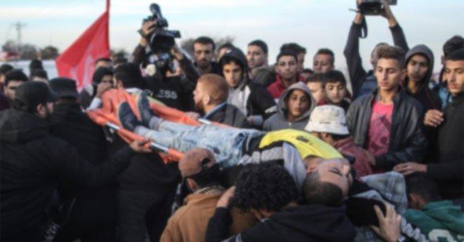 وزارة الصحة الفلسطينية : أربعة شهداء و1778 إصابة برصاص الاحتلال منذ قرار ترامب