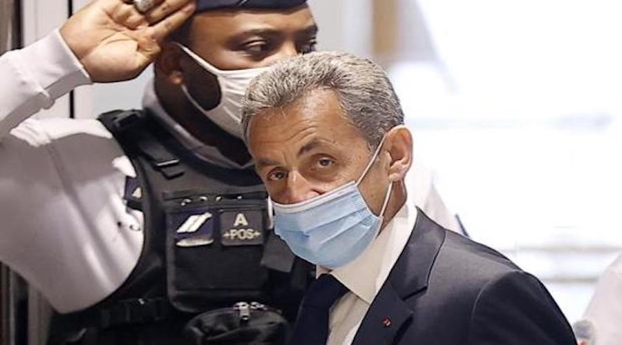 إدانة الرئيس الفرنسي السابق ساركوزي بالسجن النافذ