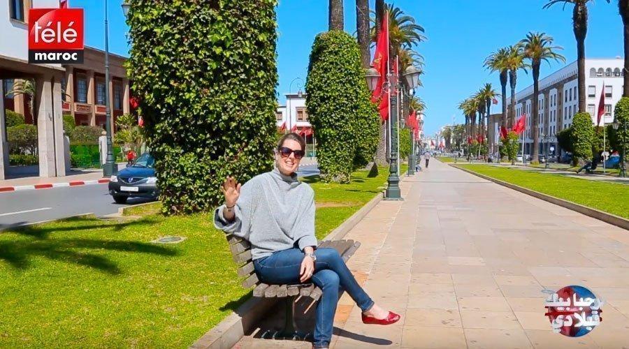 أمريكية معجبة بالمغرب و هذا سبب استقرارها في مدينة الرباط