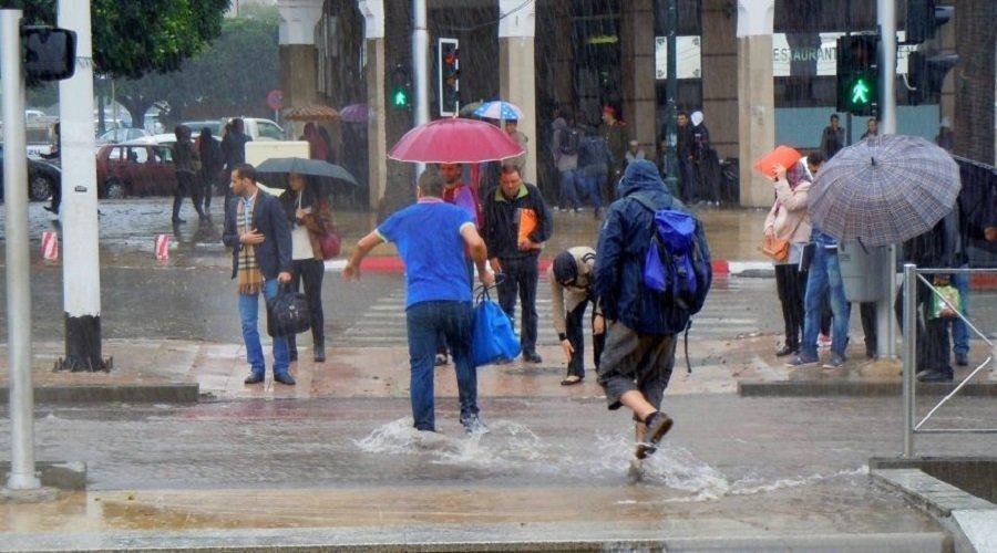 الأمطار تعود للمملكة ابتداء من الغد بهذه المناطق
