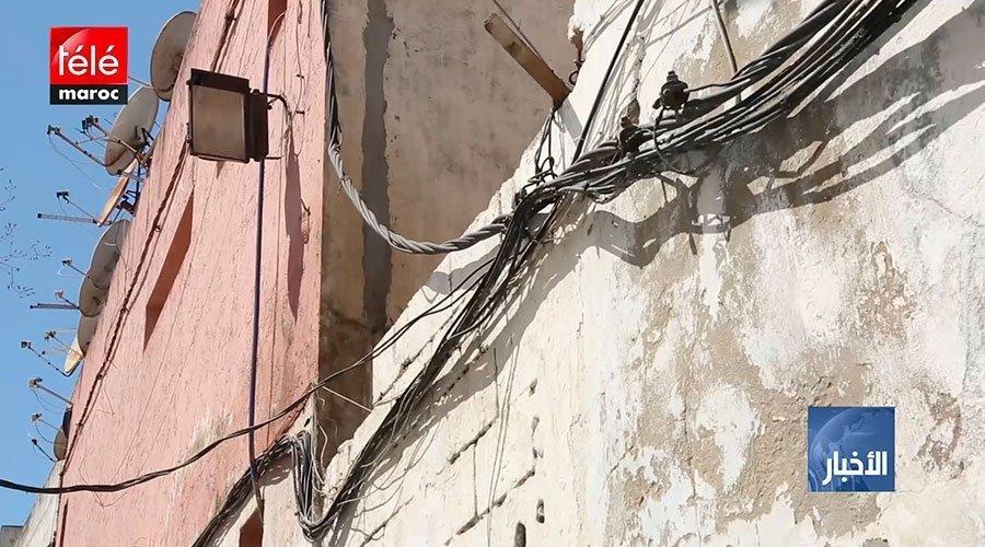 مواطنون يدقون ناقوس الخطر بسبب أسلاك كهربائية عارية بالرباط
