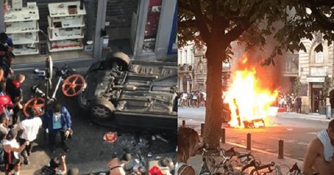 اعتقالات بالجملة وأعمال تخريب وشغب في باريس