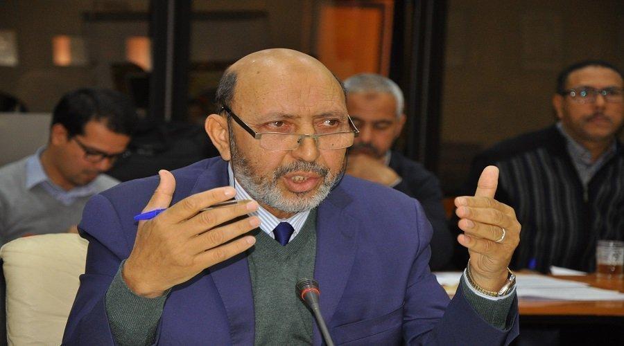 إصابة عمدة مراكش محمد العربي بلقايد بكورونا