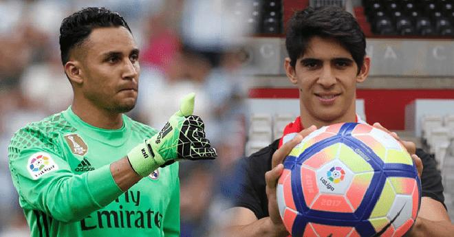 """الحارس المغربي """"بونو"""" يتفوّق على حارس ريال مدريد"""
