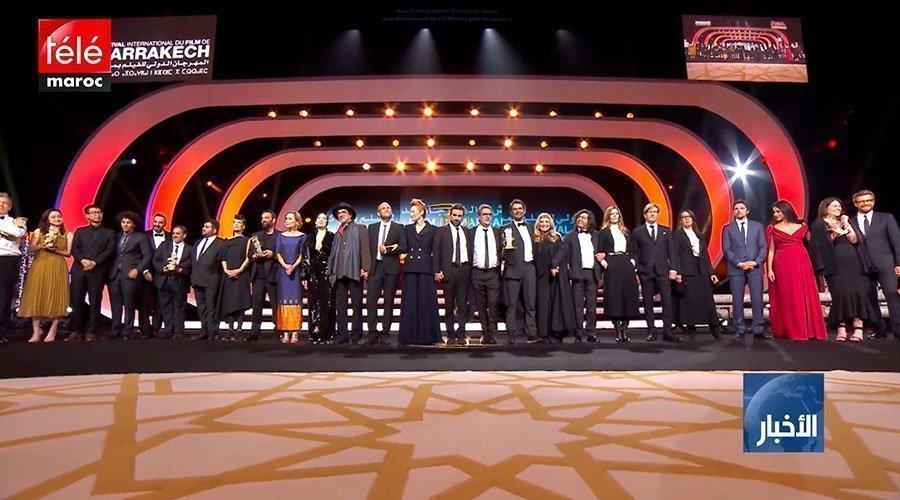 مهرجان مراكش السينمائي الدولي يسدل الستار عن دورته الثامنة عشرة بحفل  تسليم الجوائز