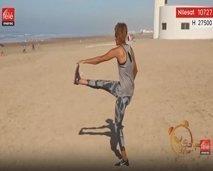 رياضة اليوم:  حركات رياضية تسخينية للجسم