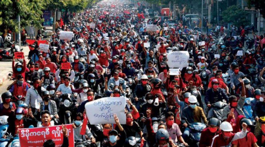 احتجاجات جديدة في بورما والأمم المتحدة مترددة في الإستجابة للشارع
