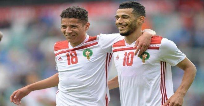بالفيديو .. بلهندة يسجل أول هدف للمنتخب المغربي ضد استونيا