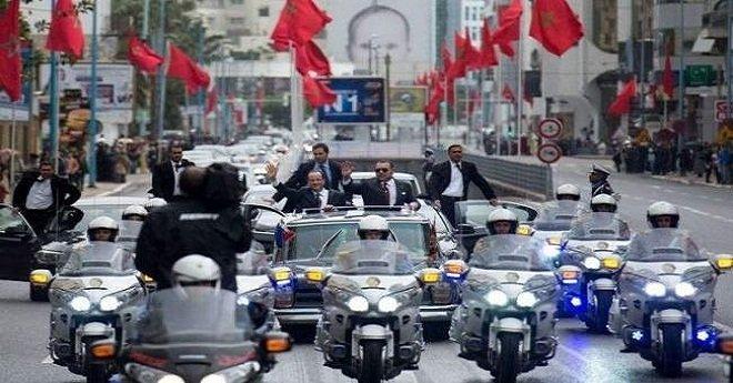 القضاء الفرنسي يصدر حكمه في حق مغربي حاول اعتراض موكب الملك محمد السادس