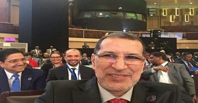 """""""سيلفي"""" العثماني في قمة الاتحاد الإفريقي"""