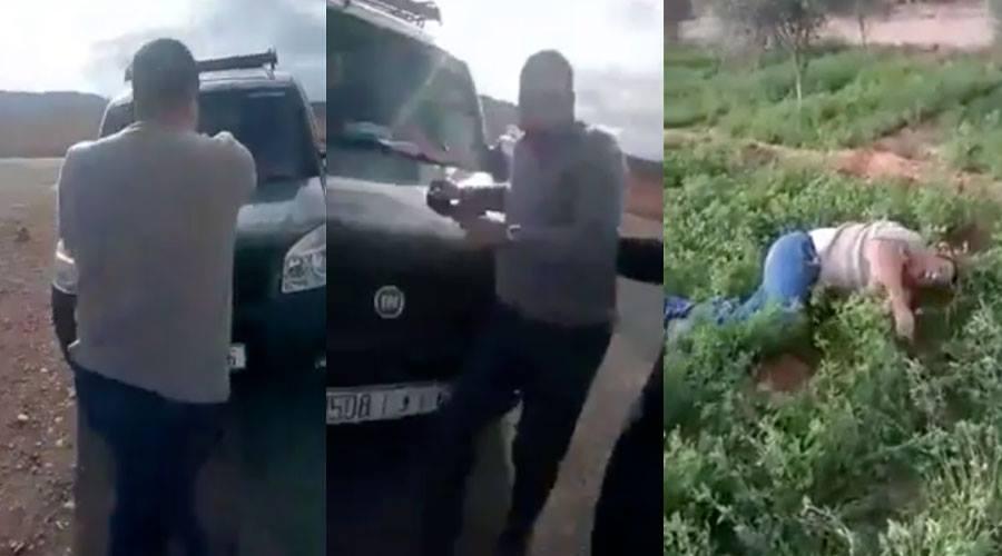 بالفيديو.. مواطن يدهس قائدا بسيارته
