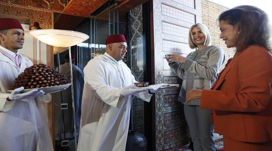 إيفانكا ترامب تحل بالمغرب