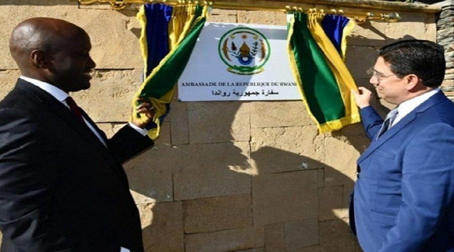 تدشين سفارة رواندا بالمغرب
