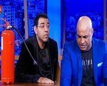 امير علي يوقف حلقة عندي مايفيد بسبب بكائه الهستيري ويكشف للعشابي سبب نزاعه مع أسماء لمنور