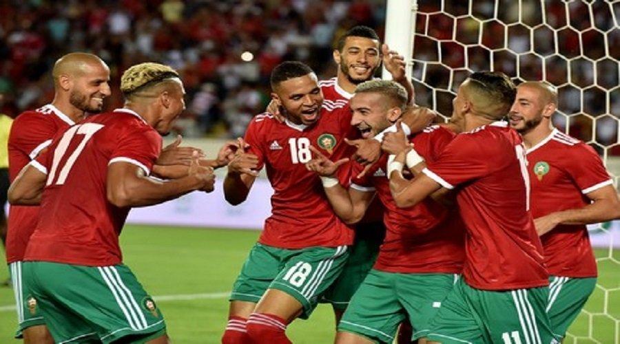 """المنتخب المغربي يحرز تقدما في التصنيف الجديد لـ""""الفيفا"""""""