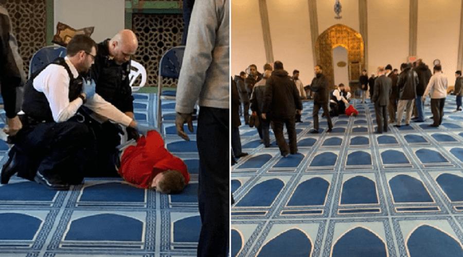 إصابة شخص في عملية طعن داخل مسجد بلندن